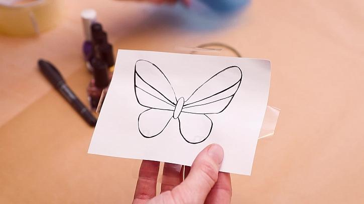 Motiv motýla