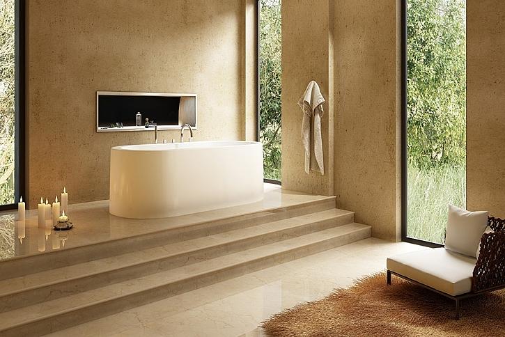 Volně stojící vana - ozdoba koupelny