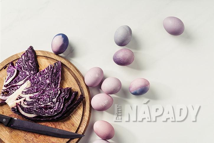 přírodní modrá vajíčka