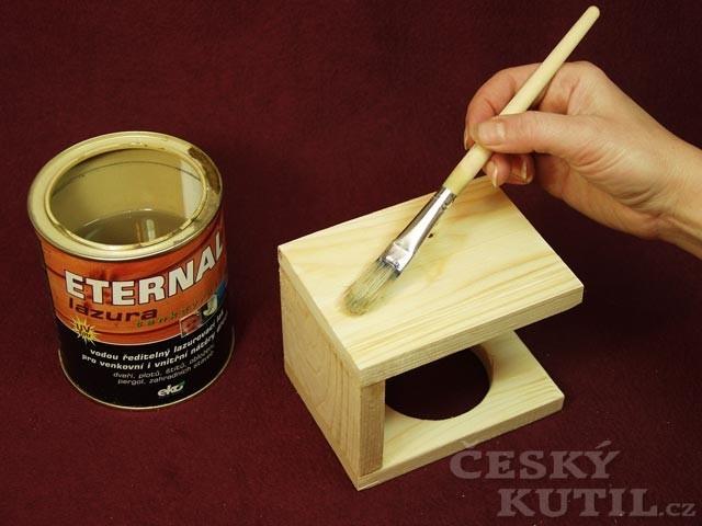 Výroba dřevěného stojánku a svíčky