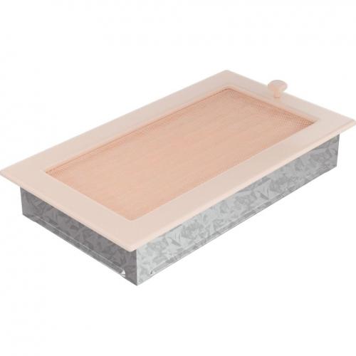 Krbová mřížka 17x30 BASIC krémová s žaluzií