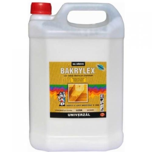 Bakrylex V1302 univerzál lesk disperzní lak na dřevo bezbarvý, 5 kg