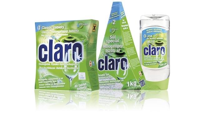 Mycí prostředek do myčky Claro