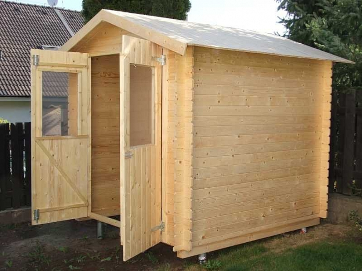 Dřevěný zahradní domek - 1. díl
