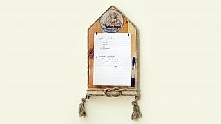 Jak si udělat originální vzkazovník: Už nikdy nezapomenete, co máte koupit