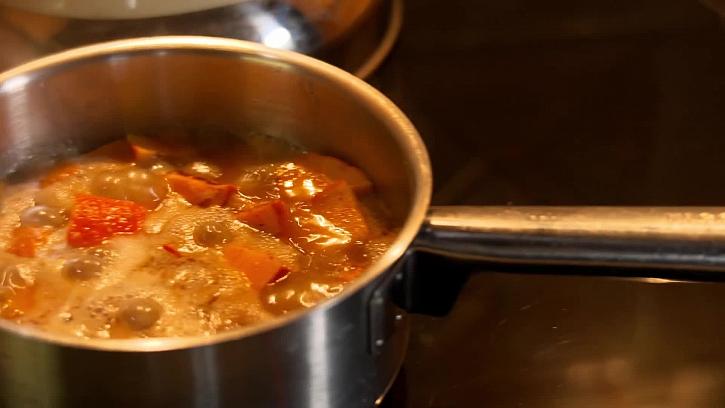 Vaření dýně