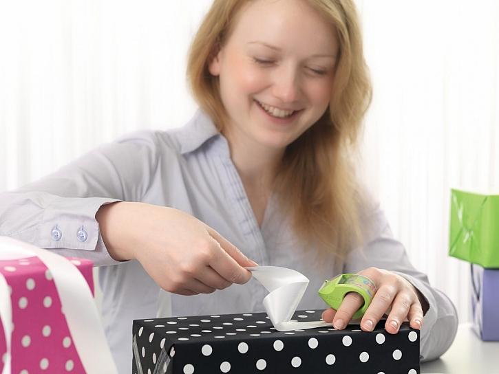 Vychytávky pro balení vánočních dárků