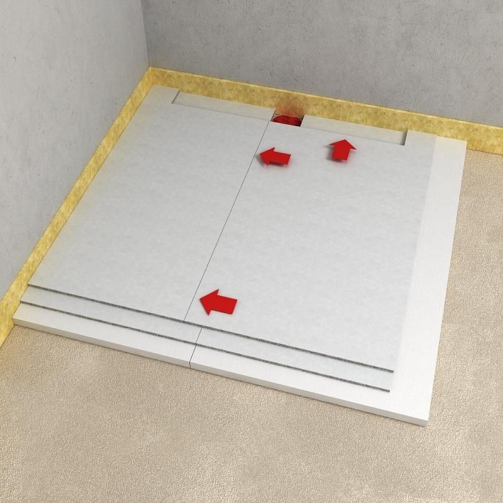 Bezbariérová koupelna suchou cestou