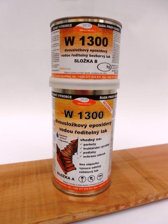 Podlahový epoxidový lak W 1300 od společnosti DCH-Sincolor – výhody a vlastnosti