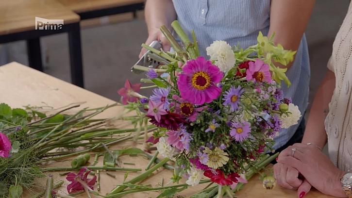 Uvažte si kytici z podzimních květin z vaší zahrady (Zdroj: Prima DOMA)