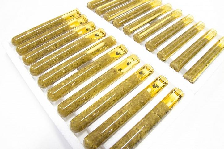 V menším množství a jednorázově lze použít chemické ampule