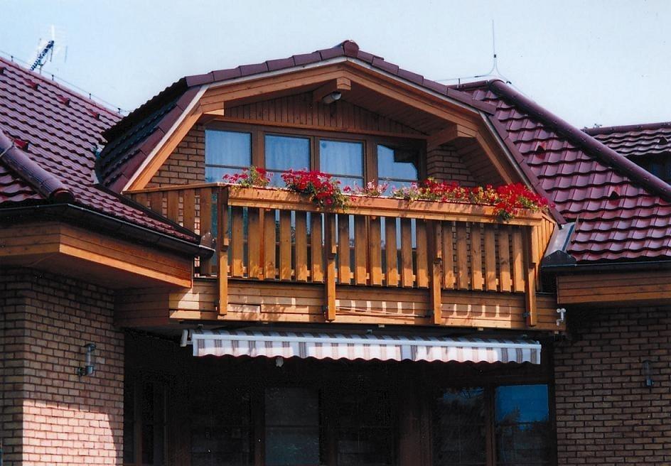 Balkony a zábradlí