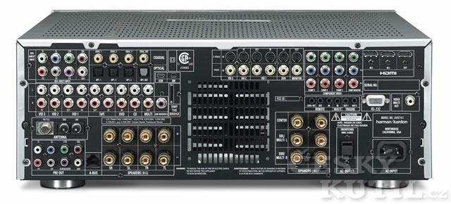 AV receiver/zesilovač
