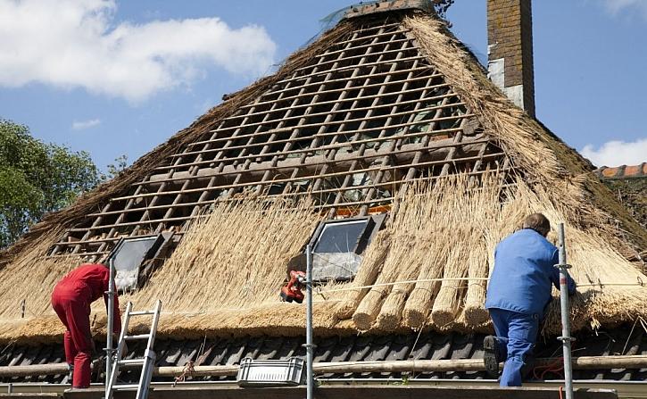 Střecha z rákosu je zajímavá, ale finančně náročná