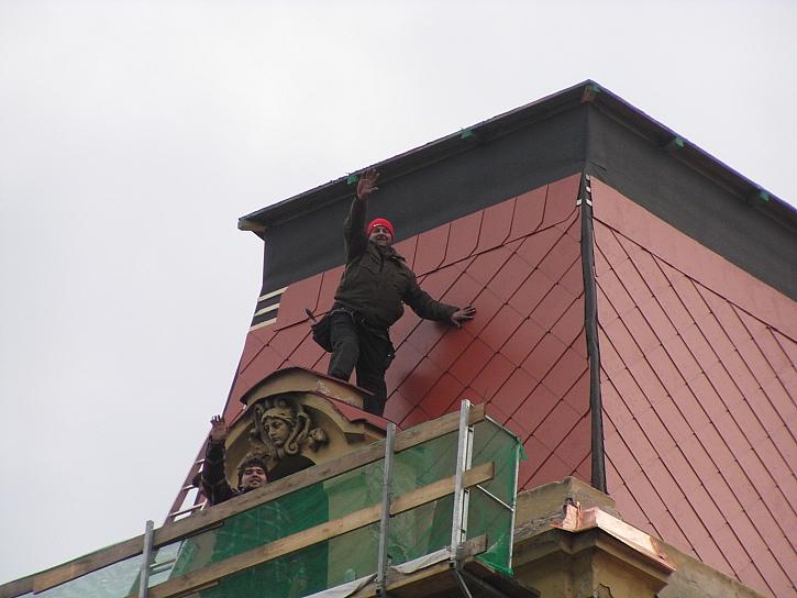 Mansardová střecha