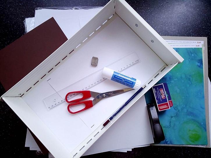 Vytvořená krabička