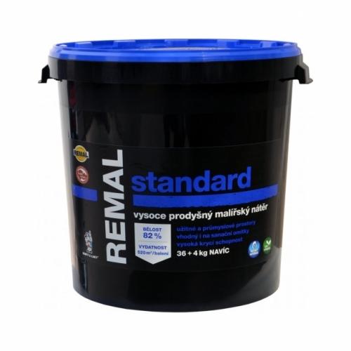 Remal Standard vysoce prodyšná malířská barva 36 + 4 kg
