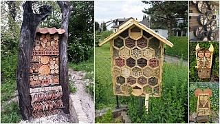 Domečky pro hmyz patří do každé moderní zahrady
