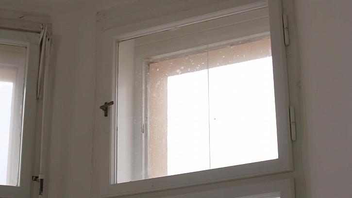 Okno před výměnou skla