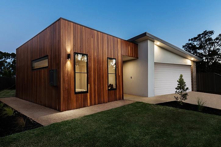 Moderní minimalistický rodinný dům