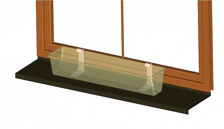 Fixpot pro dřevěná okna