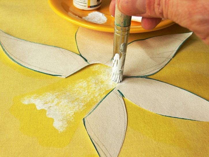 Návod na malované ubrousky