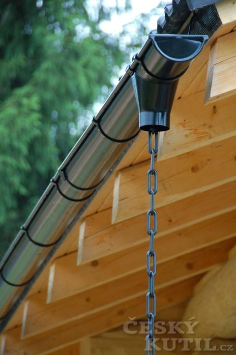 Okapový systém Rainline aneb Skládanka na střeše