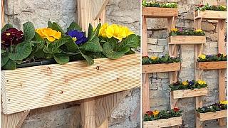 Zahrádka nastojato aneb truhlíky na květiny, bylinky nebo zeleninu