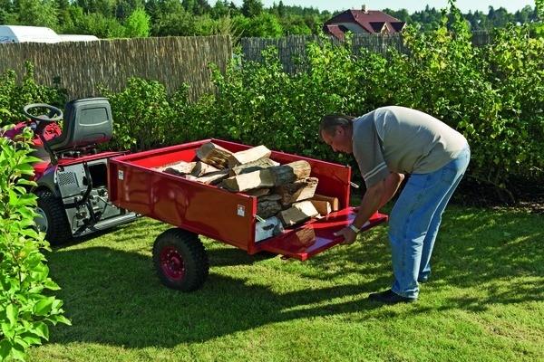 Vozík pro přepravu materiálu