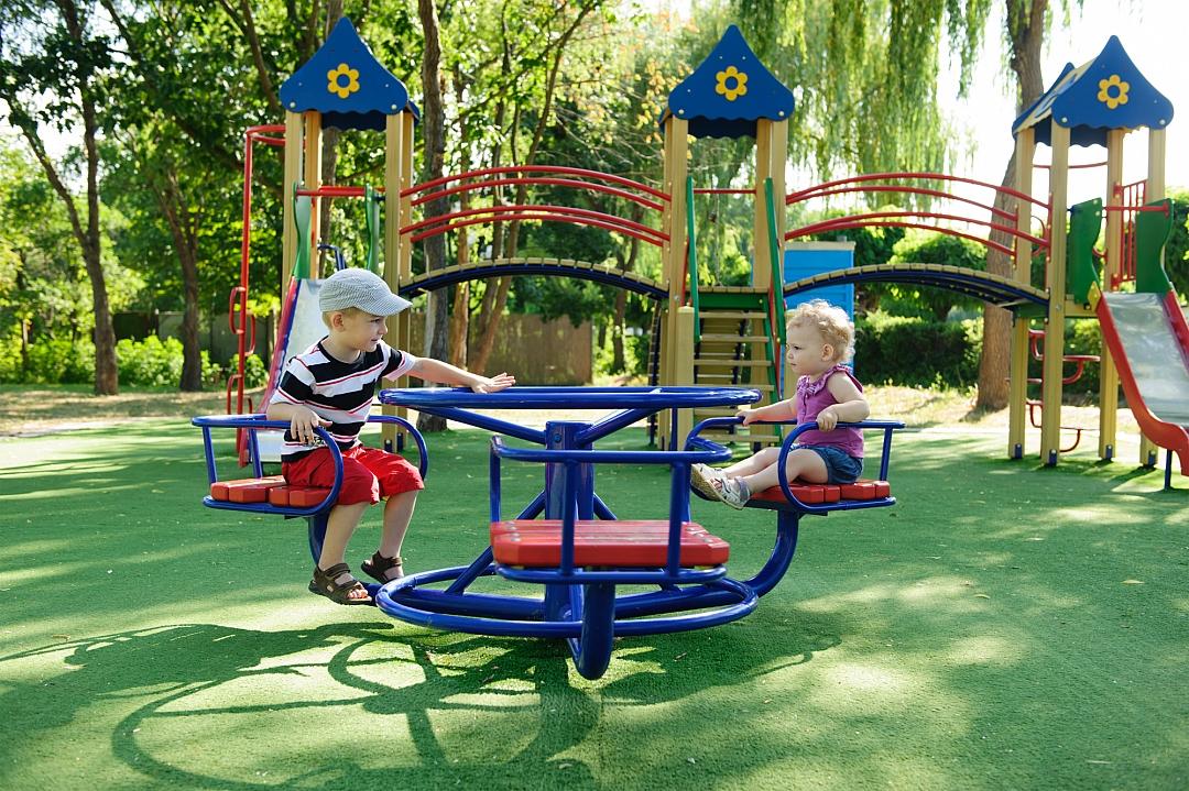 obrázek tématu: Dětské hřiště