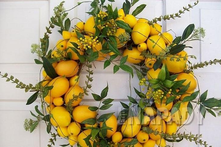 Náruč plná citronů