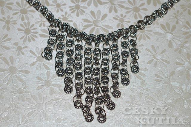 Jak vyrobit kroužkový náhrdelník