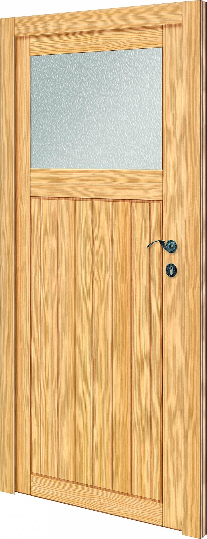 Vchodové dveře dřevěné4