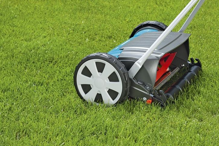 deflektor usměrní výhoz trávy