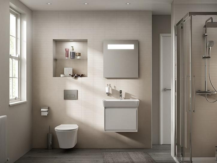 Koupelnová kolekce Connect Air: když lehkost utváří prostor