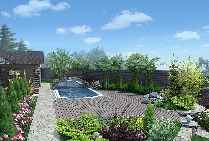 Střecha na bazén je praktická záležitost (Zdroj: Depositphotos)