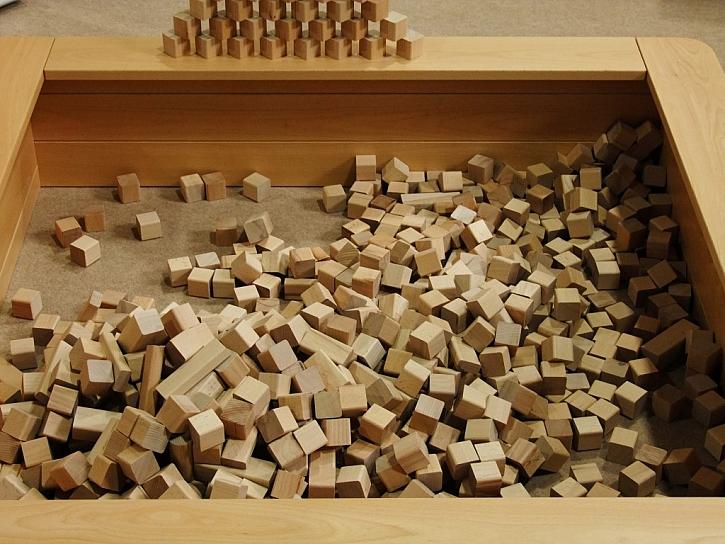 Naučná stezka a dřevěné hry jsou připravené pro děti na veletrhu CESTY DŘEVA