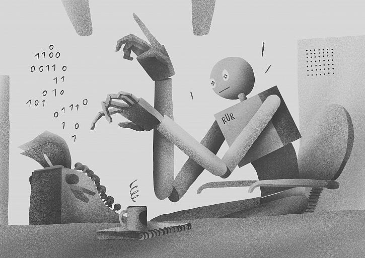 Al: Když robot píše hru. Švandovo divadlo uvede unikátní projekt k výročí 100 let od premiéry R.U.R. Karla Čapka (Zdroj: Tomáš Studeník)