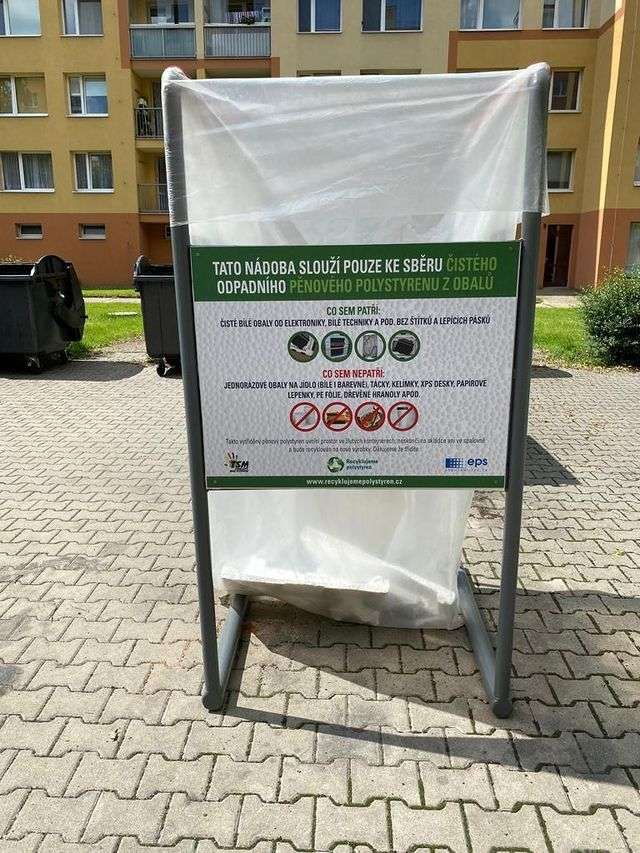 recyklační nádoba EPS