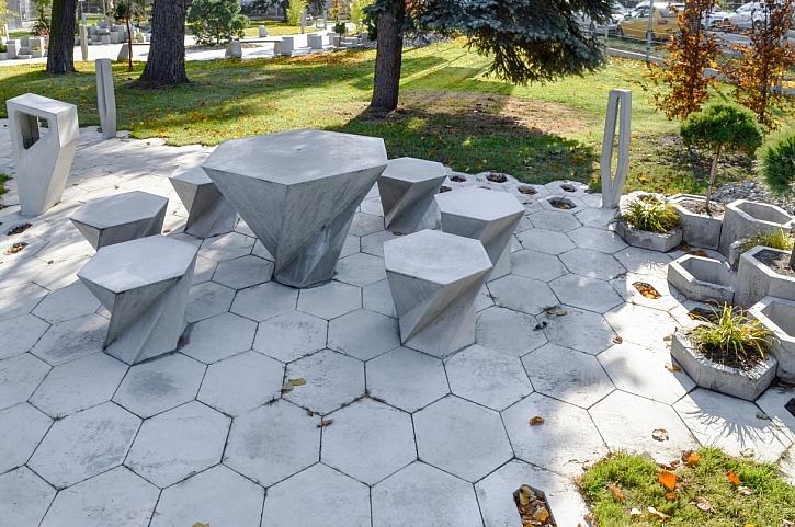 posezení beton