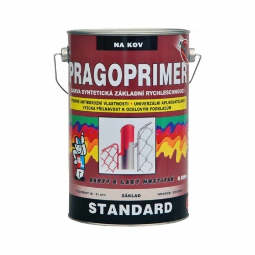 Pragoprimer Standard S2000 základní barva na kov, červenohnědá, 4 l