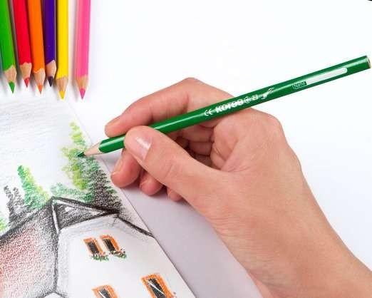 Malá škola malování akvarelovými pastelkami