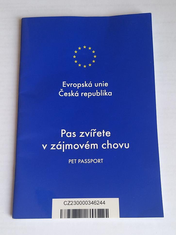 Cestovní pas pro zvíře