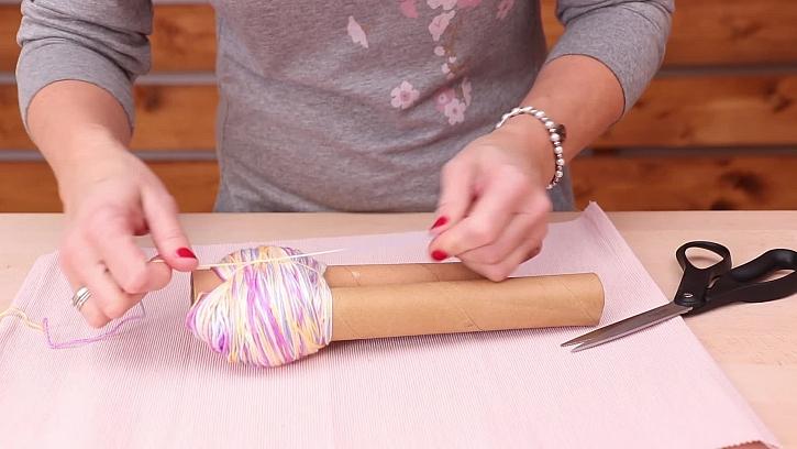 Jednoduchý návod na výrobu bambule na čepici