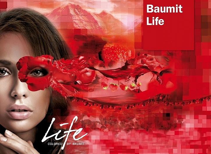 Barvy na fasády Baumit Life v 888 odstínech