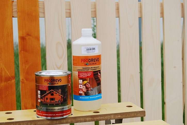 Ideální ochrana dřeva v exteriéru