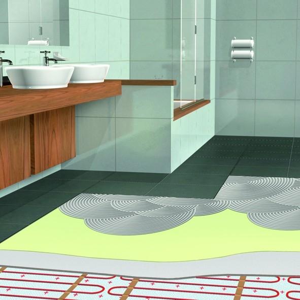 Jak snadno na izolaci koupelny a sprchového koutu