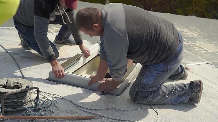 Monáž střešního okna
