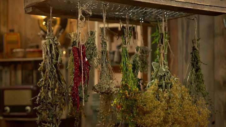Vyrobte si sušák na bylinky ze staré bedny na ovoce
