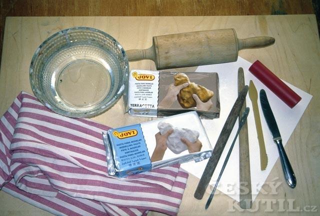 Výroba betlému z hmoty JOVI